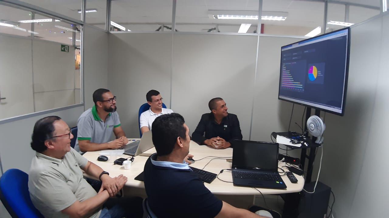 Réunion de travail entre les équipes IFSP et IFSuldeMinas